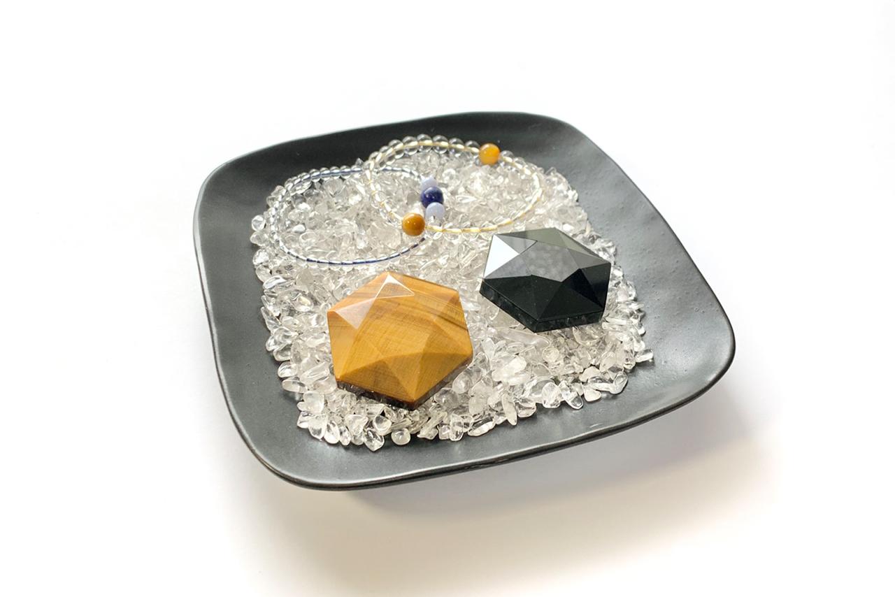 天然水晶さざれ石(使用例)